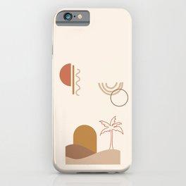 Minimal Dune 03 iPhone Case