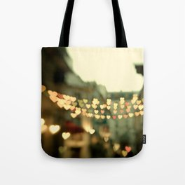 Looking for Love - Paris Hearts Tote Bag