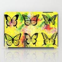 butterflies iPad Cases featuring Butterflies by ShaMiLa