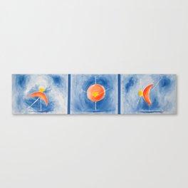 3 Ballerinas Canvas Print