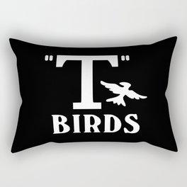 T birds music design Rectangular Pillow