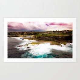 Shark Point, Clovelly - NSW Art Print