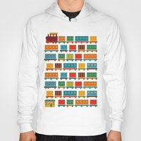 train Hoodies featuring Train by Kakel