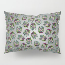 Great Dane with Floppy Ears - Day of the Dead Sugar Skull Dog Pillow Sham