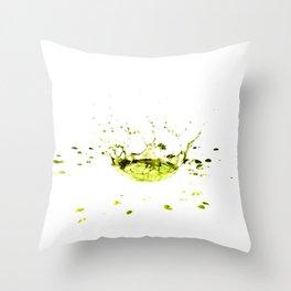 Watersplash Throw Pillow