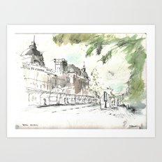 Retiro Station Art Print