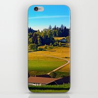 farm iPhone & iPod Skins featuring From farm to farm by Patrick Jobst