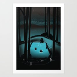 The Pool Art Print