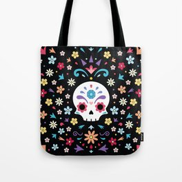Cute day of the dead Tote Bag