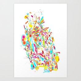 Holy Massive Art Print