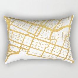 PERTH AUSTRALIA CITY STREET MAP ART Rectangular Pillow