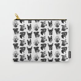 Dog Pattern Carry-All Pouch