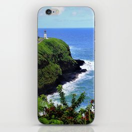 Kilauea Point Lighthouse Kauai by Reay of Light iPhone Skin