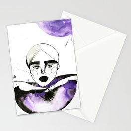 Kim-Chi posing and voguing Stationery Cards