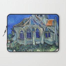 The Church at Auvers Vincent Van Gogh Laptop Sleeve