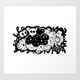What? - It's Doodle baby! Art Print