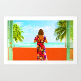 Shall I Compare Thee To A Summer's Day? Art Print