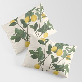 Lemon Branches II Pillow Sham
