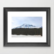 Rainier Framed Art Print