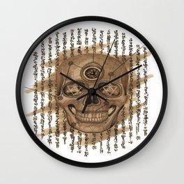 Life Skull Wall Clock