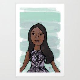 Candice Patton as Iris West Art Print