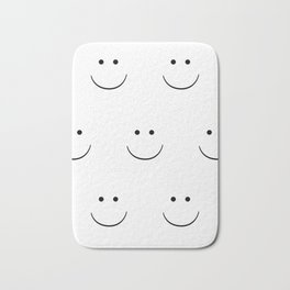 Hey!!! Smile!!! Bath Mat