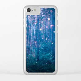 Fairy Lights Clear iPhone Case