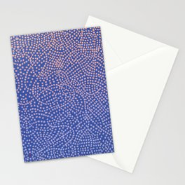 Square craziness Stationery Cards