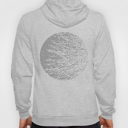 Planet Surface Circle Hoody