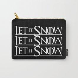 LET IT SNOW LET IT SNOW LET IT SNOW Carry-All Pouch