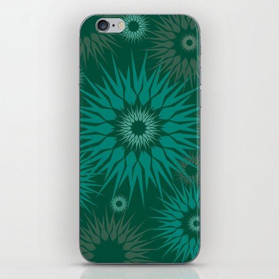 Dark Spiky Burst iPhone & iPod Skin