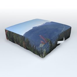 Serenity of the mountains Outdoor Floor Cushion