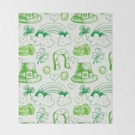 sant ptrick day, irish gift, ireland, Throw Blanket