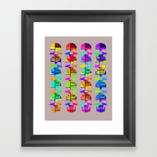Skullk Framed Art Print