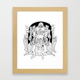 Fish Kingdom Framed Art Print