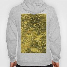 Golden Marble Pattern Texture Handmade Decoration Hoody