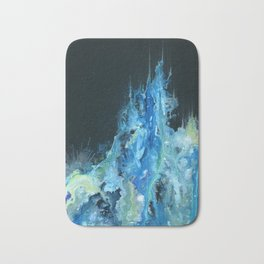 Twin Caverns (Abstract Painting) Bath Mat