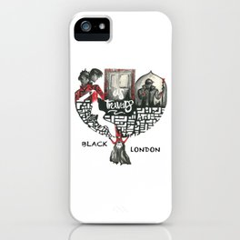 Black London_A Darker Shade of Magic iPhone Case
