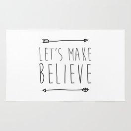 Let's make believe Rug