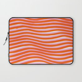 electric zebra stripes Laptop Sleeve