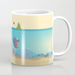 What's going on at the sea? Kids collection Coffee Mug