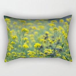 Yellow flowers of the Volcán Irazú Rectangular Pillow