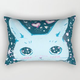 Star Bunny Rectangular Pillow