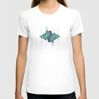 gem T-shirts featuring Gem Abstract by Alyn Spiller