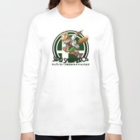 super smash bros Long Sleeve T-shirts featuring Fox - Super Smash Bros. by Donkey Inferno