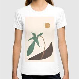 Minimal New Leaf T-shirt