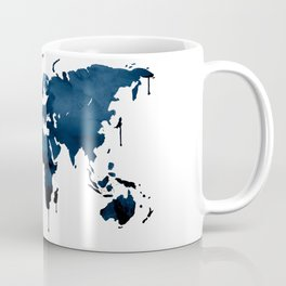 World map. Coffee Mug