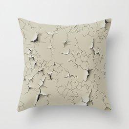 Grunge Seamless Texture Throw Pillow