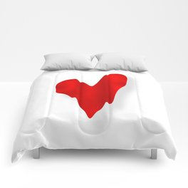 Melting Heart Comforters