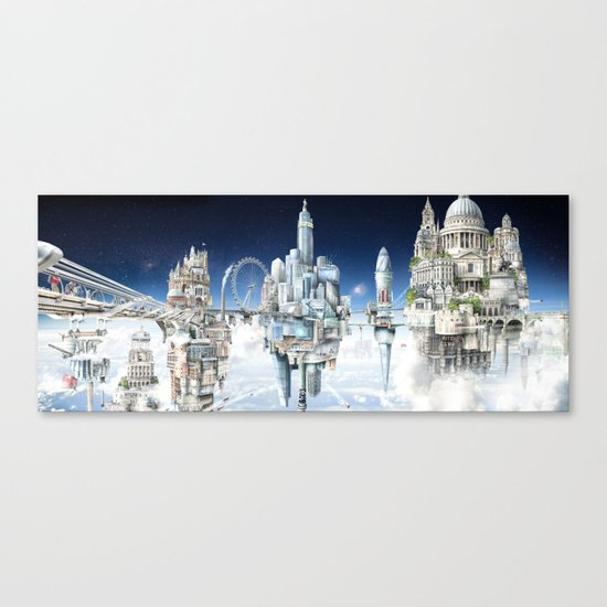 The Towers of London Canvas Print
